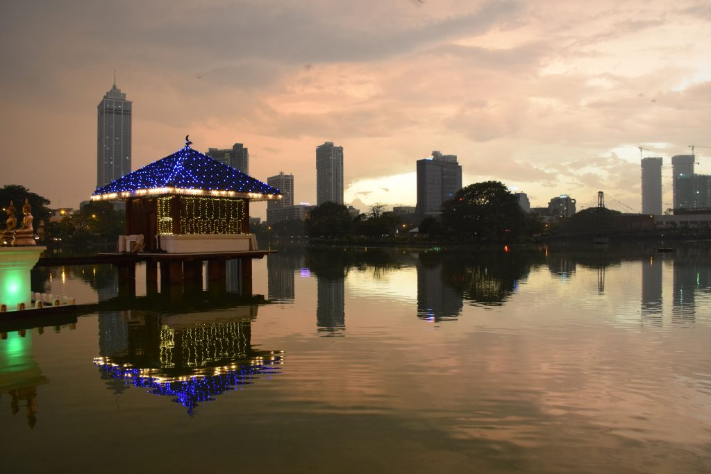 Seema Malaka temple, Beira Lake, Colombo, Sri Lanka